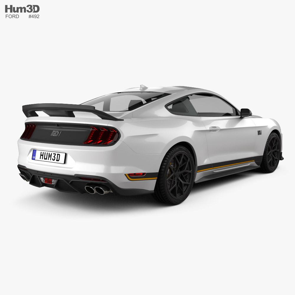 Ford Mustang Mach 1 Handling Package 2021 3d model