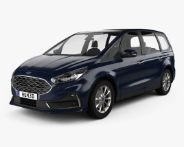 Ford Galaxy 2019 3D model