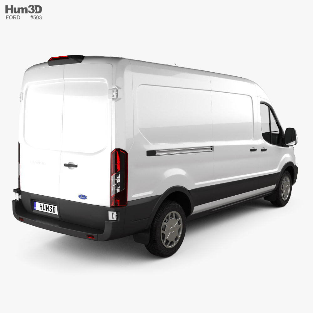 Ford Transit Panel Van L3H2 Trendline 2018 3d model