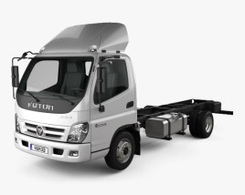 Foton Aumark C (1015) Chassis Truck 2-axle 2010 3D model