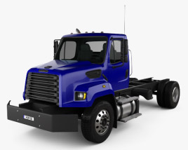 Freightliner 108SD Chassis Truck 2011 3D model