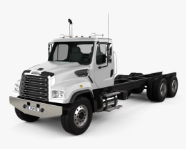 Freightliner 114SD Chassis Truck 2011 3D model