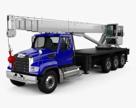 Freightliner 114SD Crane Truck 2011 3D model