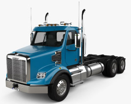 Freightliner 122SD Chassis Truck 2013 3D model