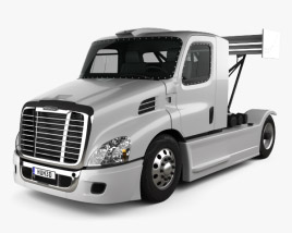 Freightliner Cascadia Race Truck 2017 3D model