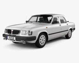 GAZ 3110 Volga 2004 3D model
