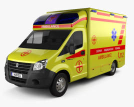 GAZ Gazelle Next Ambulance 2017 3D model