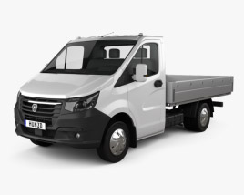 GAZ Gazelle Next Single Cab Flatbed 2020 3D model