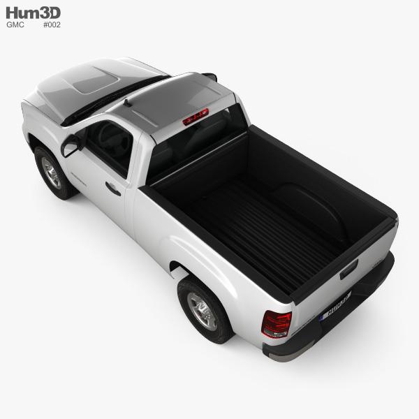 GMC Sierra Regular Cab Standard Box 2011 3D model