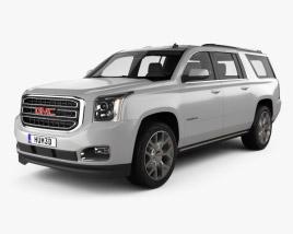 GMC Yukon XL 2014 3D model