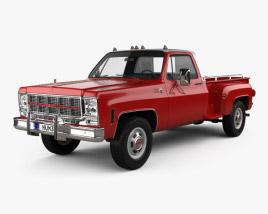GMC Sierra Grande 454 Pickup 1979 3D model