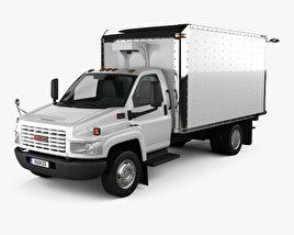 GMC Topkick C5500 Box Truck 2004 3D model