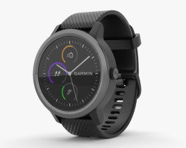Garmin Vivoactive 3 Black with Slate Hardware 3D model
