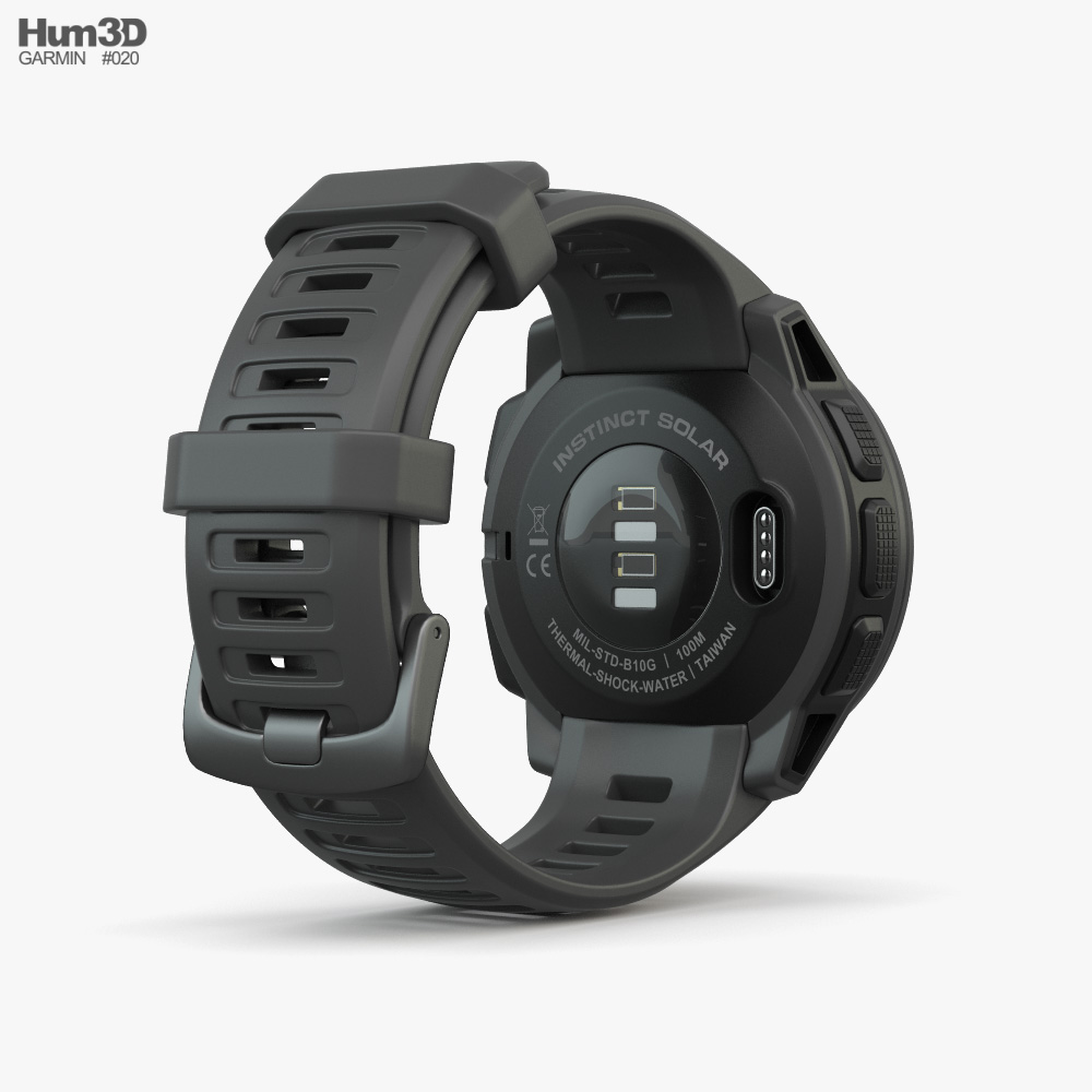 Garmin Instinct Solar Graphite 3d model