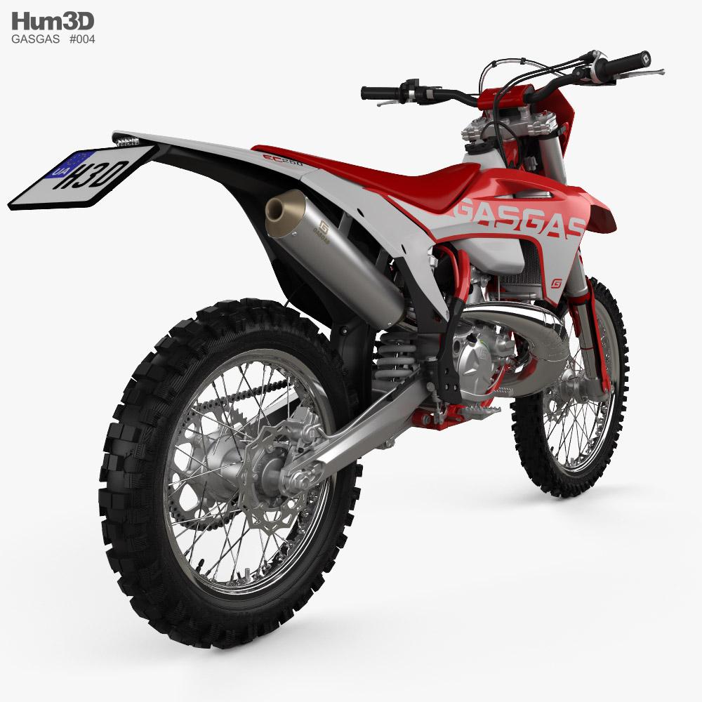 GasGas EC 250 2021 3d model