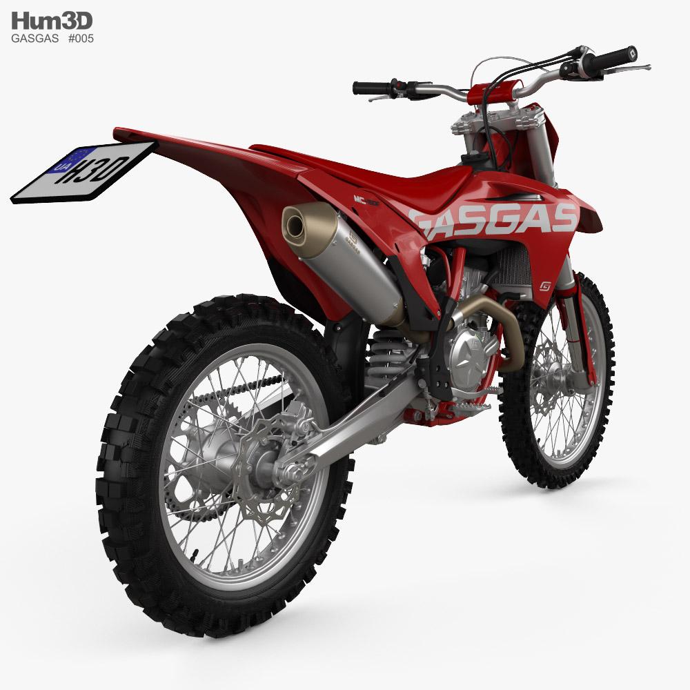 GasGas MC 450F 2021 3d model