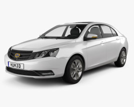 Geely Emgrand EC7 2014 3D model