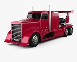 Generic Jet Powered Truck 2017 3D model