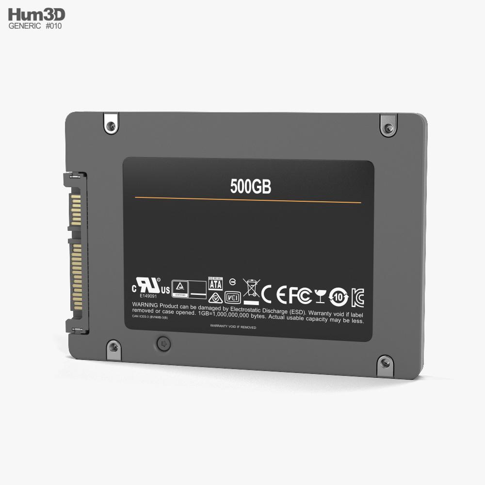 Generic SSD 3d model