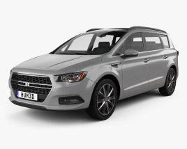 Generic minivan 2019 3D model