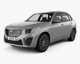 Generic SUV 2019 3D model