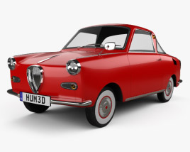 Goggomobil TS 250 Coupe 1957 3D model