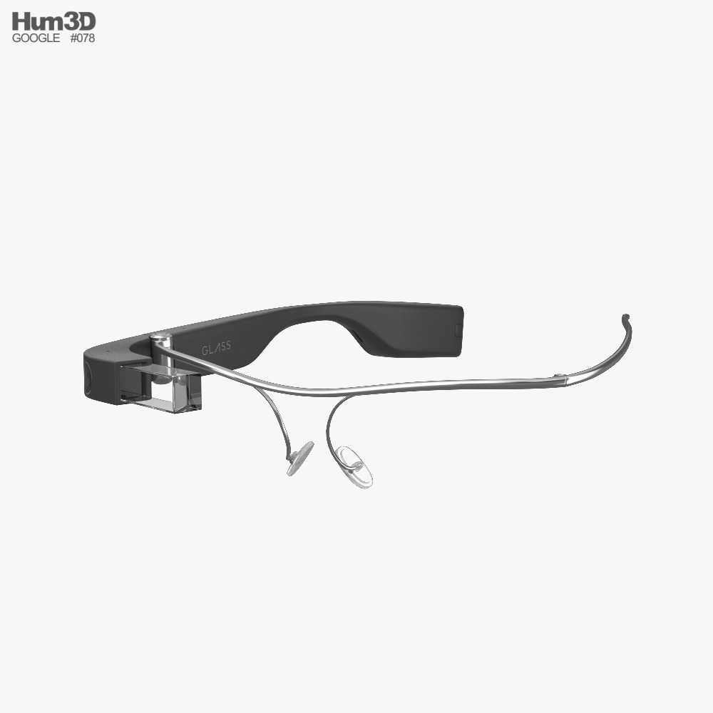 Google Glass Enterprise Edition 2 3d model