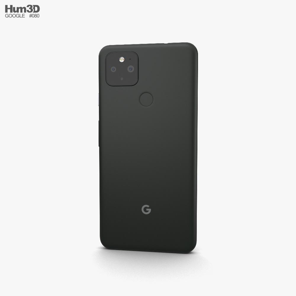 Google Pixel 4a 5G Just Black 3d model