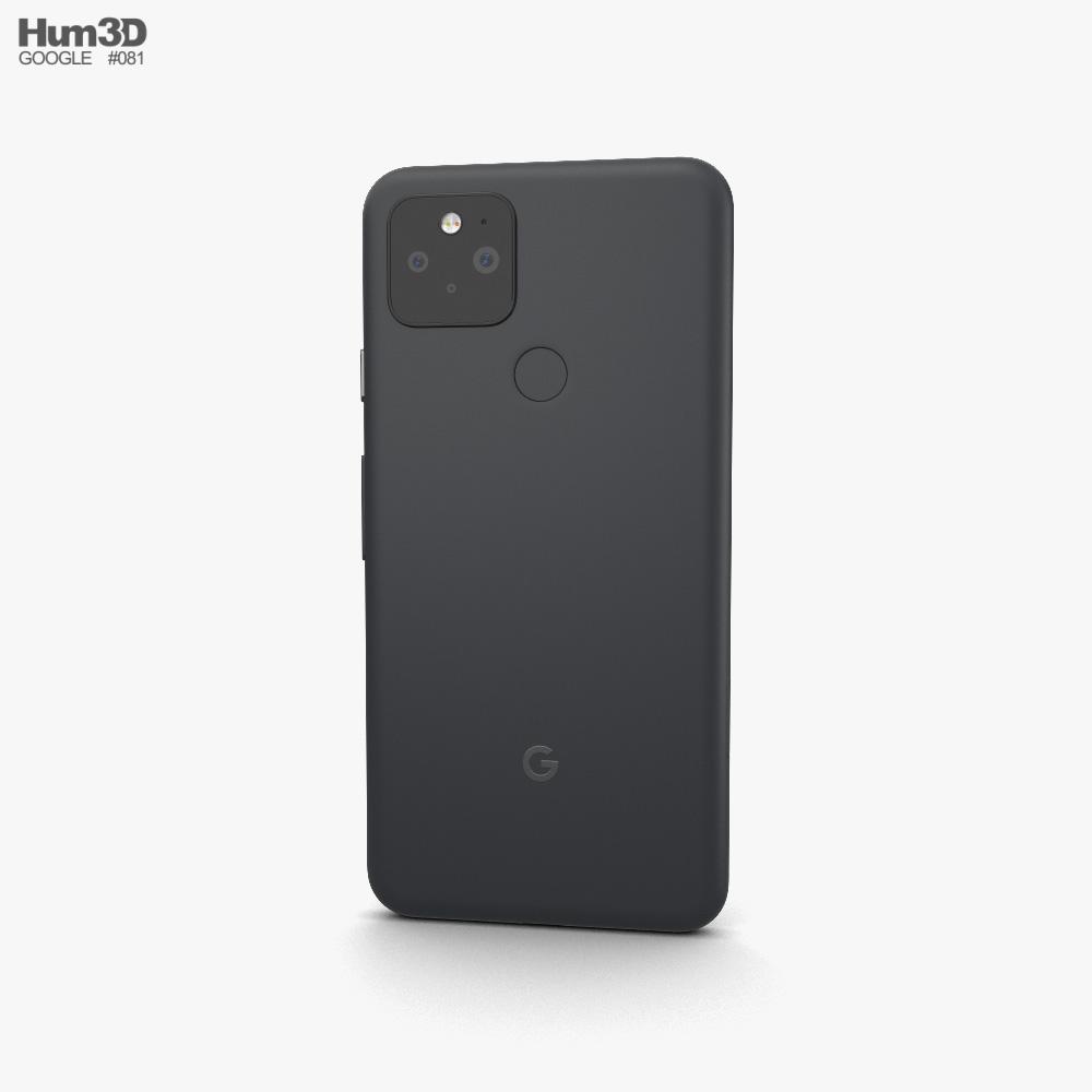 Google Pixel 5 Just Black 3d model