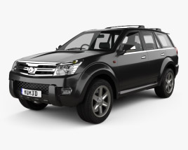 Great Wall Hover (Haval) H3 2010 3D model