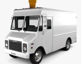 Grumman Kurbmaster Ice-Cream Van 2016 3D model