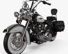 Harley-Davidson Heritage Softail Classic 2012 3D model