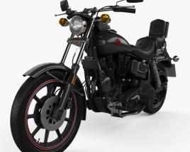 Harley-Davidson FXB Sturgis 1980 3D model
