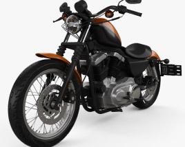 Harley-Davidson Sportster XL 1200 N Nightster 1986 3D model
