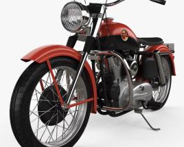 Harley-Davidson XL Sportster 1957 3D model