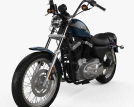 Harley-Davidson XLH 1200 Sportster 2003 3D model