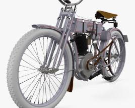 Harley-Davidson model 2 1906 3D model