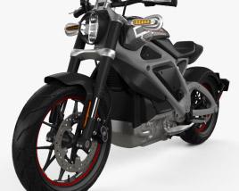 Harley-Davidson LiveWire 2014 3D model