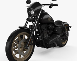 Harley-Davidson Dyna Low Rider S 2016 3D model