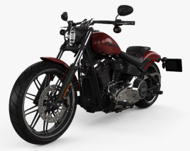 Harley-Davidson FXBRS Breakout 114 2018 3D model