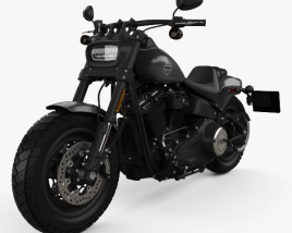 Harley-Davidson FXFB Fat Bob 114 2018 3D model