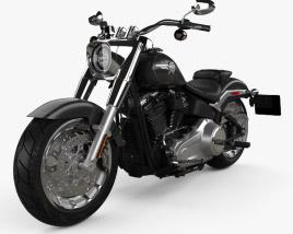 Harley-Davidson SDBV Fat Boy 114 2018 3D model