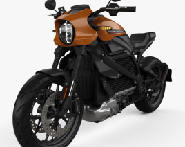 Harley-Davidson LiveWire 2019 3D model