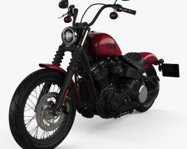 Harley-Davidson Street Bob 2018 3D model