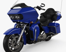 Harley-Davidson Road Glide Ultra 2018 3D model