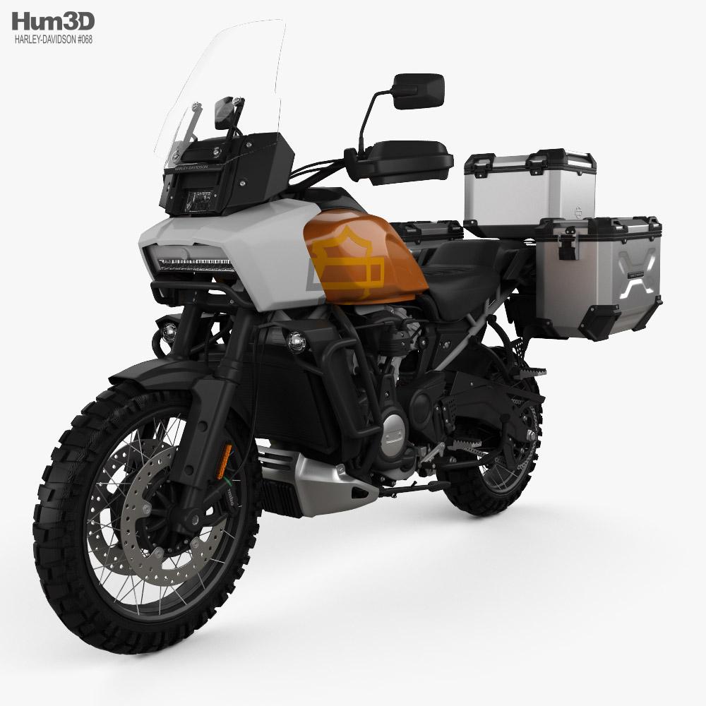 Harley-Davidson Pan America 2021 3d model
