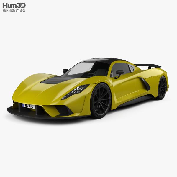 Hennessey 3d Models Hum3d