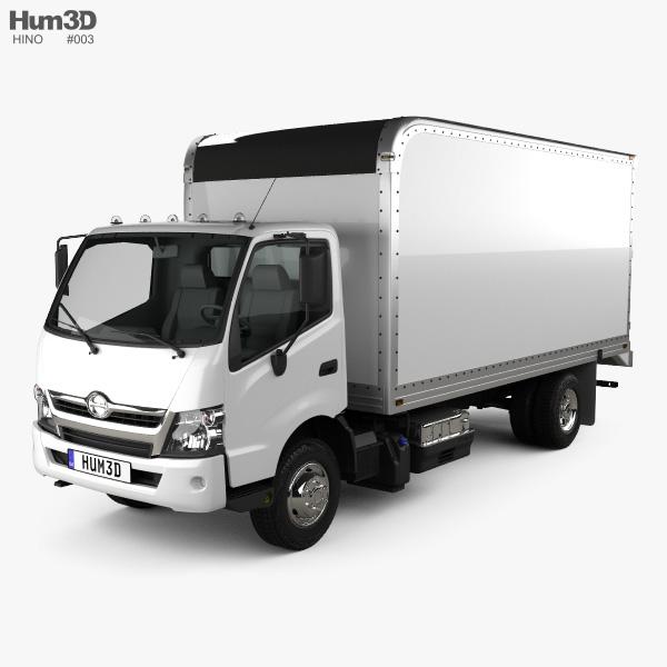 Hino 195 Hybrid Box Truck 2017 Model