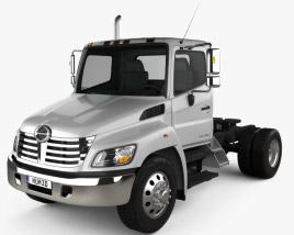 Hino 338 CT Tractor Truck 2007 3D model