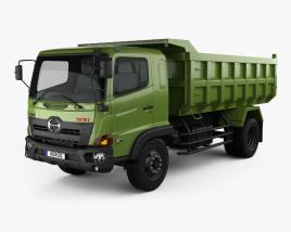 Hino 500 FG Tipper Truck 2016 3D model